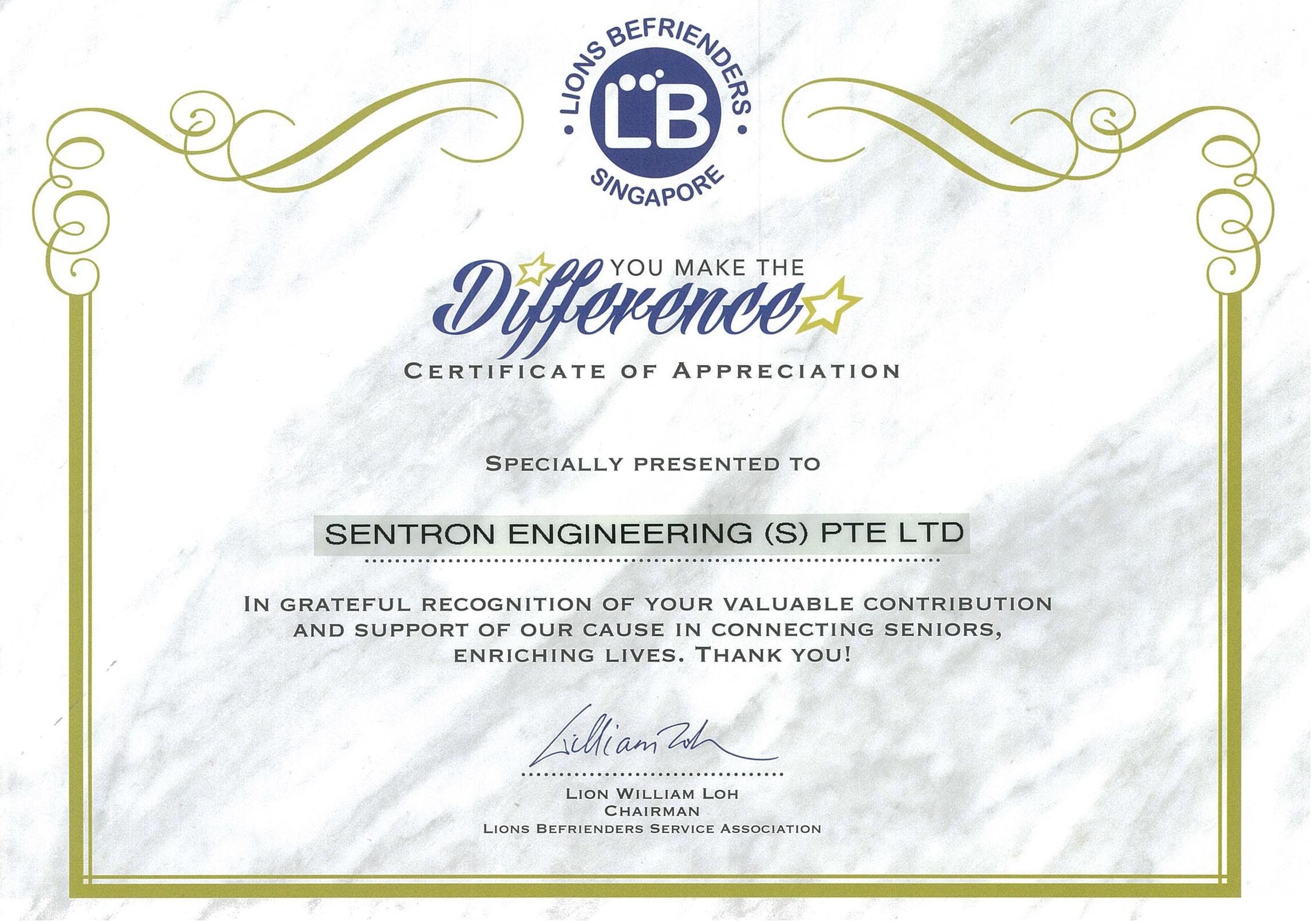 Sentron Engineering (S) Pte Ltd
